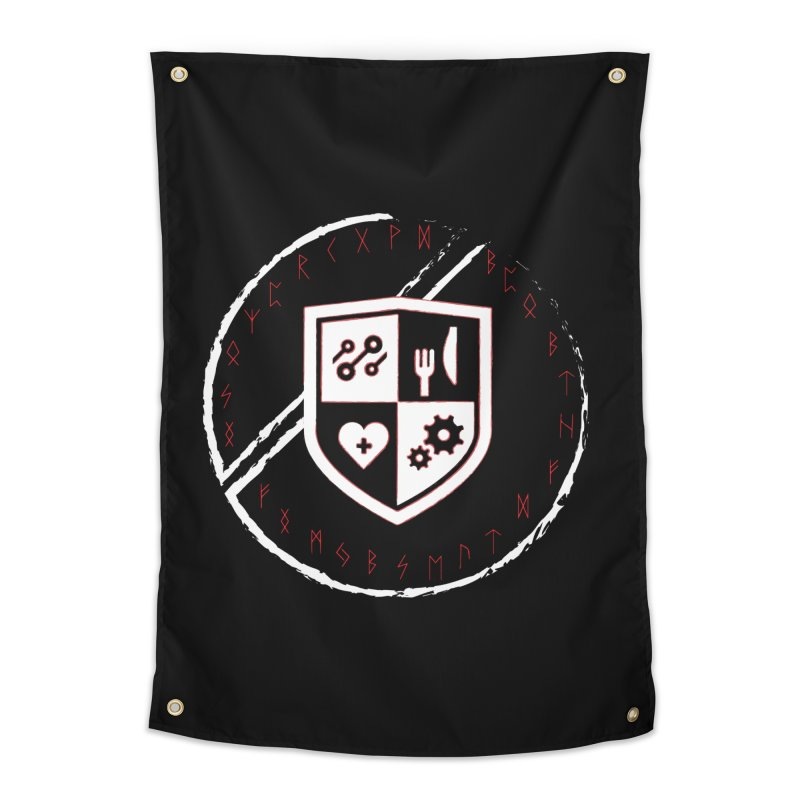 Runes Home Tapestry by James Rumsey Technical Institute