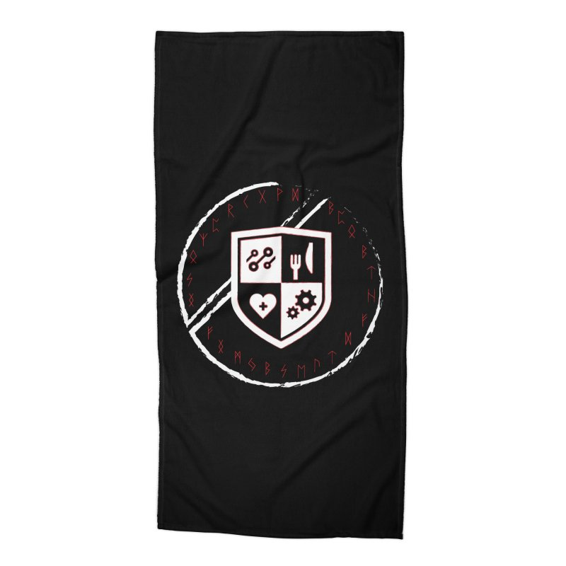 Runes Accessories Beach Towel by James Rumsey Technical Institute