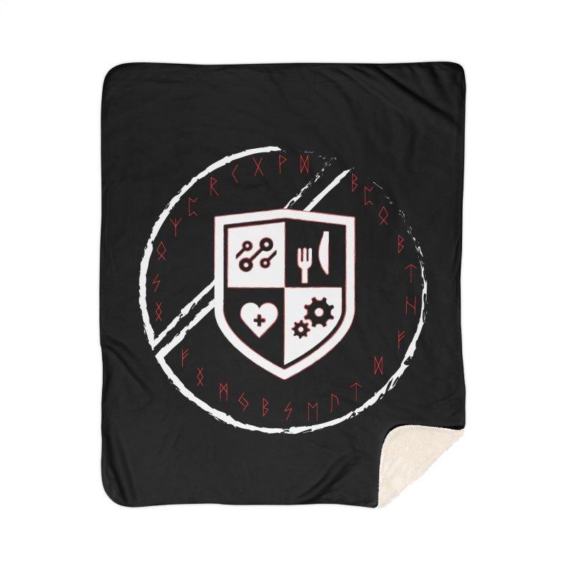 Runes Home Sherpa Blanket Blanket by James Rumsey Technical Institute