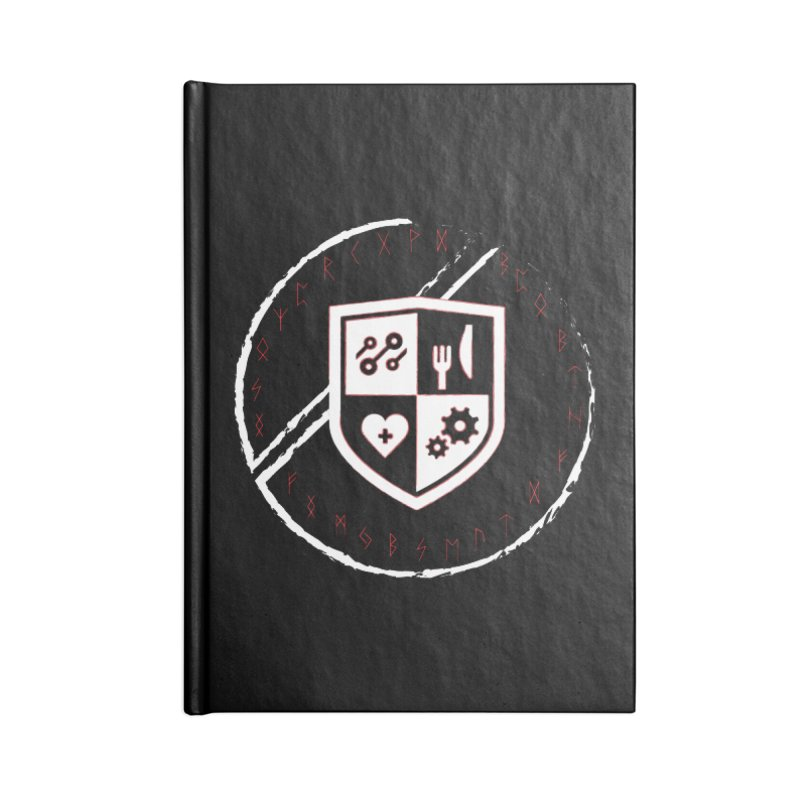 Runes Accessories Lined Journal Notebook by James Rumsey Technical Institute