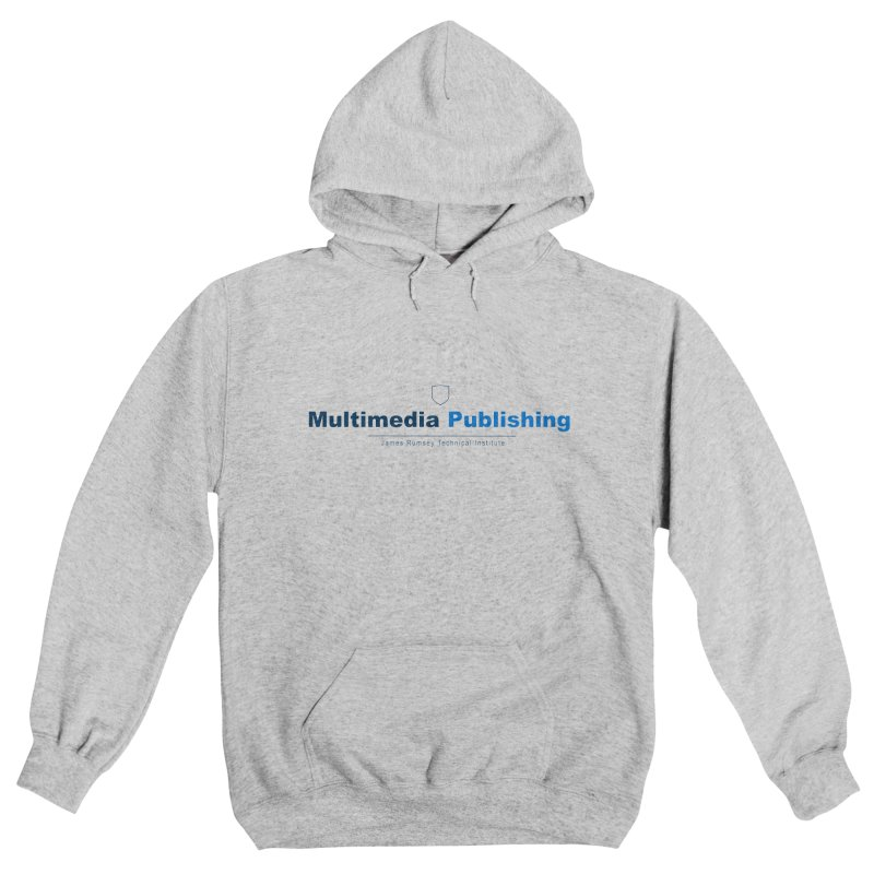 Blue Multimedia Publishing Men's Pullover Hoody by James Rumsey Technical Institute