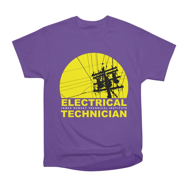 Electrical Technician Men's Heavyweight T-Shirt by James Rumsey Technical Institute