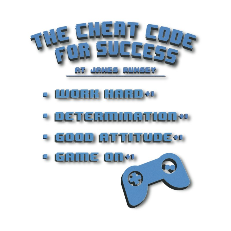 Cheat Code for Success Women's Longsleeve T-Shirt by James Rumsey Technical Institute
