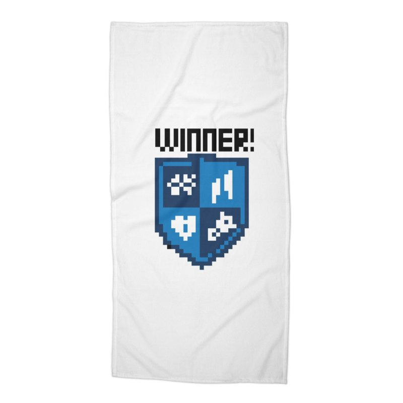 Winner! Accessories Beach Towel by James Rumsey Technical Institute