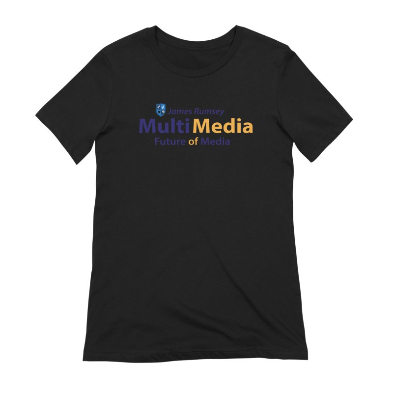 MultiMedia Women's Extra Soft T-Shirt by James Rumsey Technical Institute