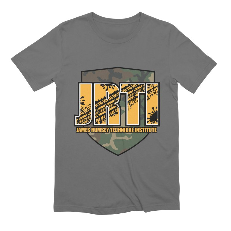 Camo Shield Men's T-Shirt by James Rumsey Technical Institute