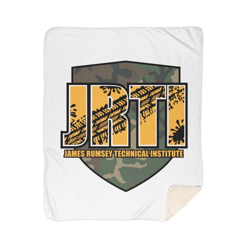 Camo Shield Home Blanket by James Rumsey Technical Institute