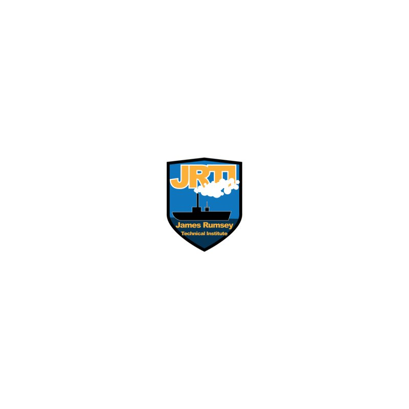 Shield & Boat - small by James Rumsey Technical Institute