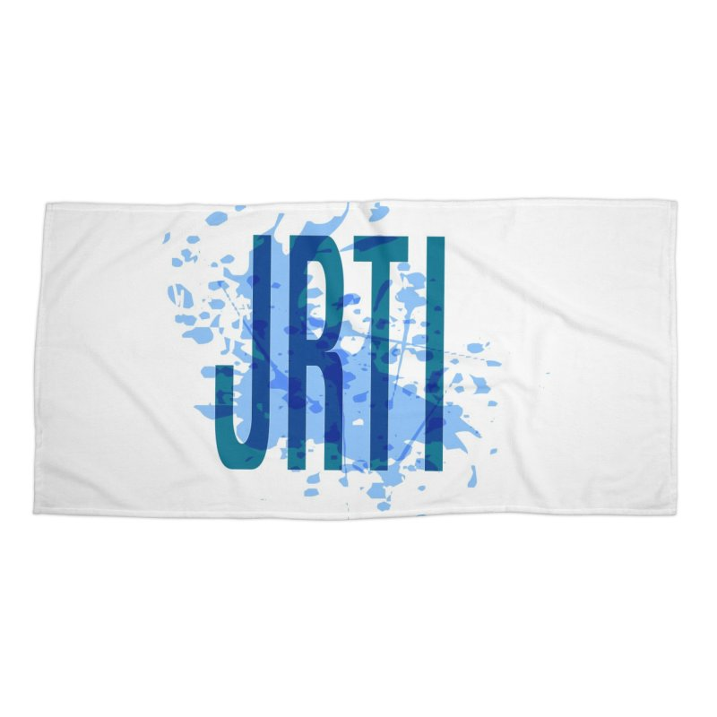 Splatter Accessories Beach Towel by James Rumsey Technical Institute
