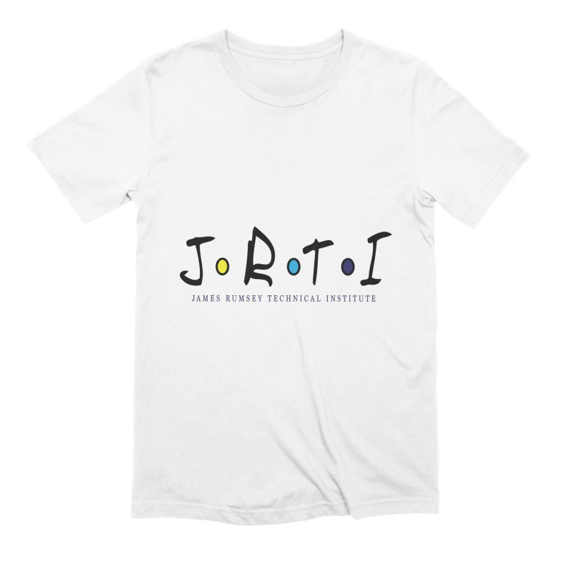 JRTI Friends Men's Extra Soft T-Shirt by James Rumsey Technical Institute