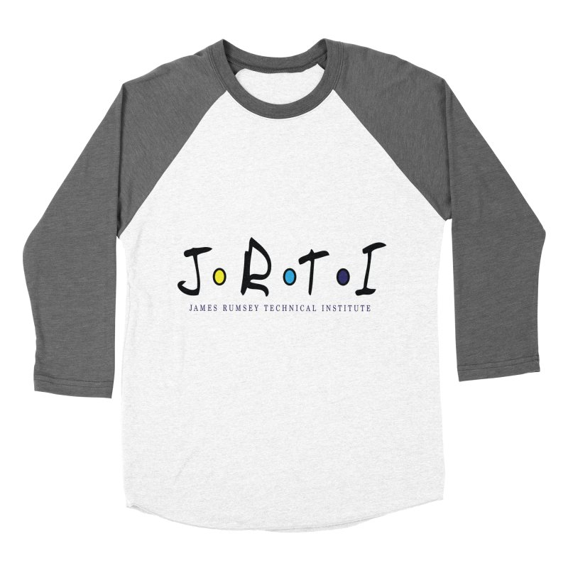 JRTI Friends Women's Baseball Triblend Longsleeve T-Shirt by James Rumsey Technical Institute