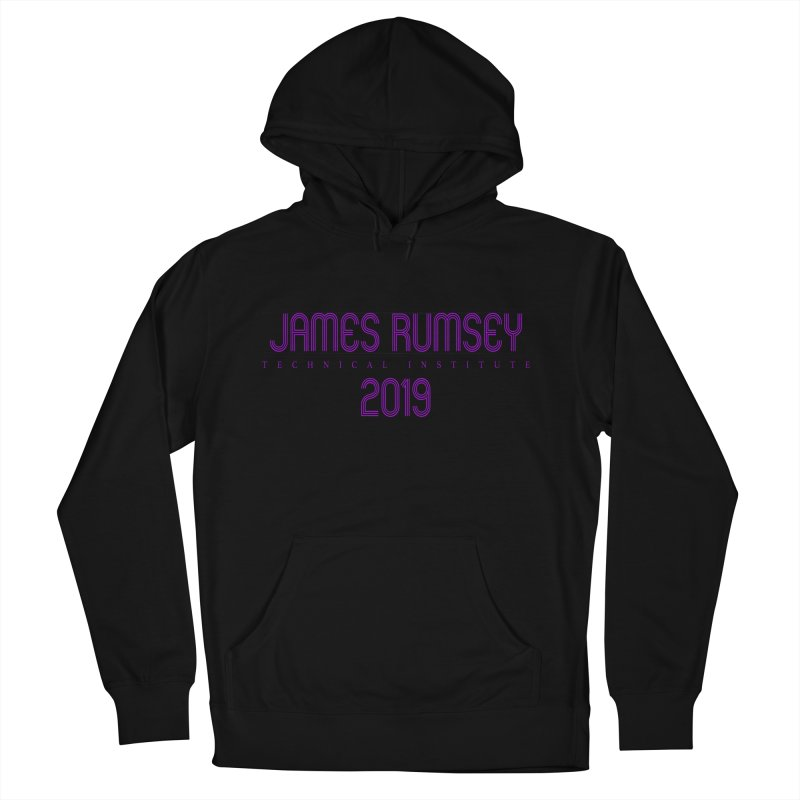 JRTI Retro Women's French Terry Pullover Hoody by James Rumsey Technical Institute