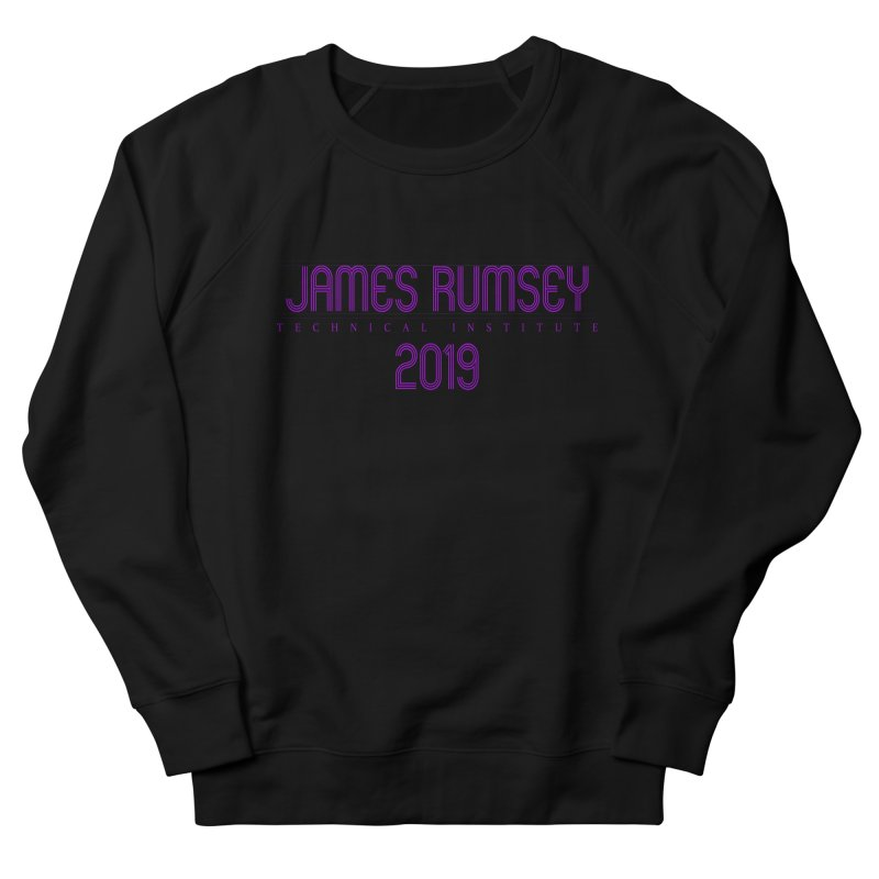 JRTI Retro Women's French Terry Sweatshirt by James Rumsey Technical Institute