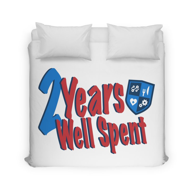 2 Years Well Spent Home Duvet by James Rumsey Technical Institute
