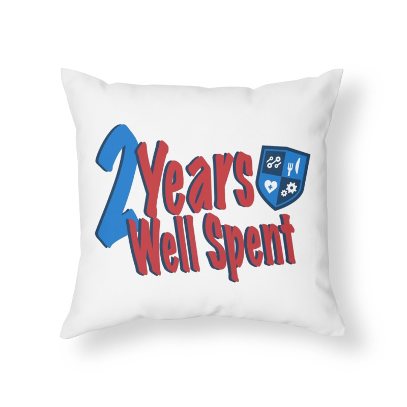 2 Years Well Spent Home Throw Pillow by James Rumsey Technical Institute