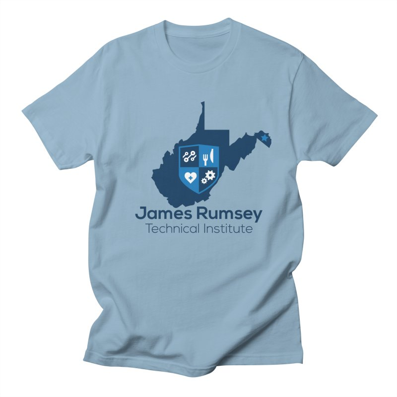JRTI WV Women's Regular Unisex T-Shirt by James Rumsey Technical Institute