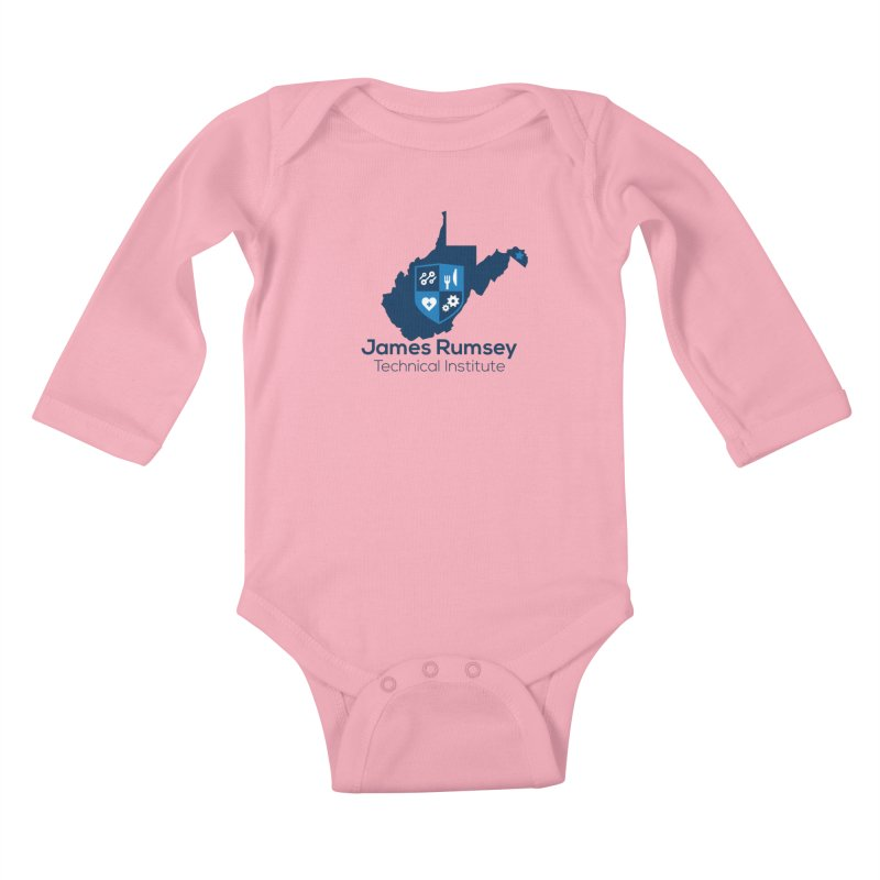 JRTI WV Kids Baby Longsleeve Bodysuit by James Rumsey Technical Institute
