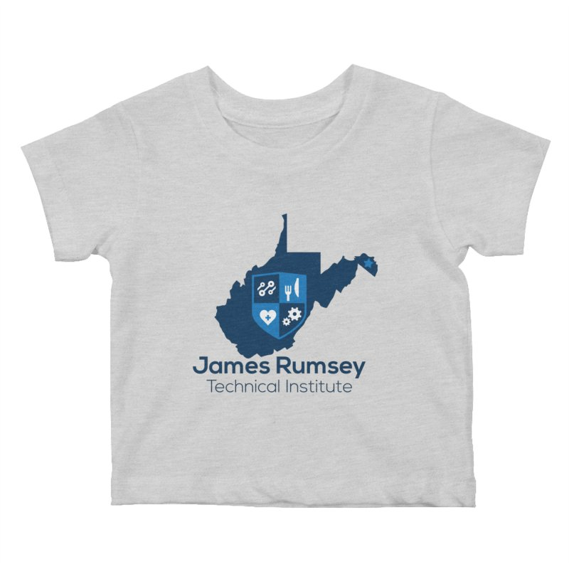 JRTI WV Kids Baby T-Shirt by James Rumsey Technical Institute