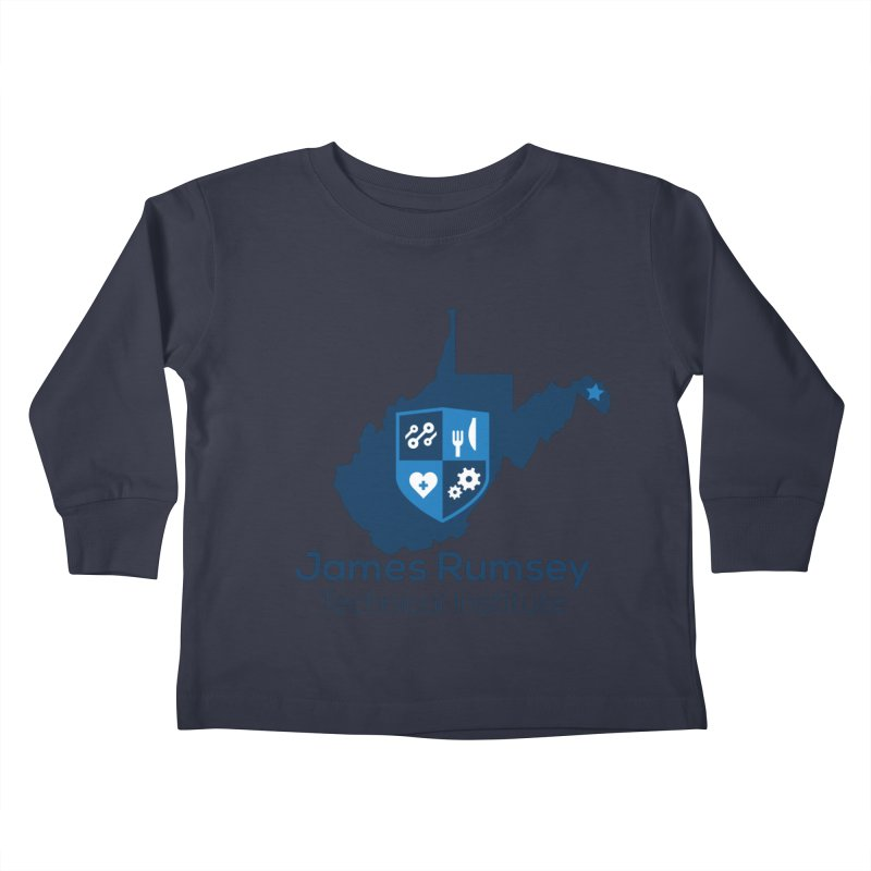 JRTI WV Kids Toddler Longsleeve T-Shirt by James Rumsey Technical Institute