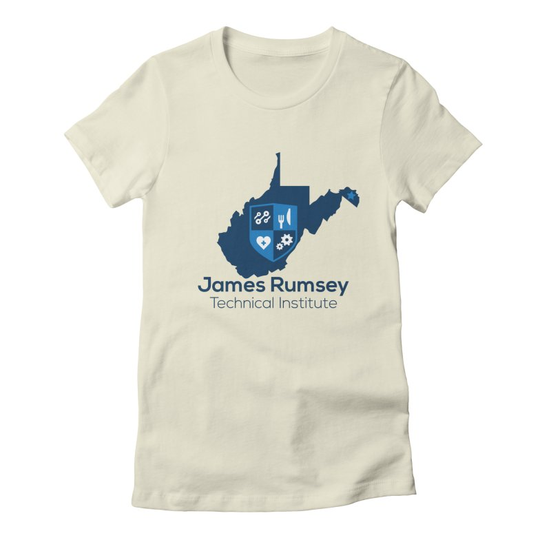JRTI WV Women's Fitted T-Shirt by James Rumsey Technical Institute