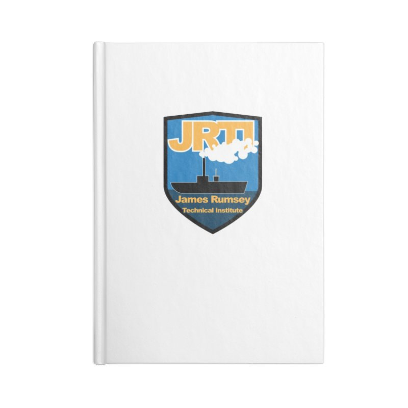 Shield & Boat Accessories Lined Journal Notebook by James Rumsey Technical Institute