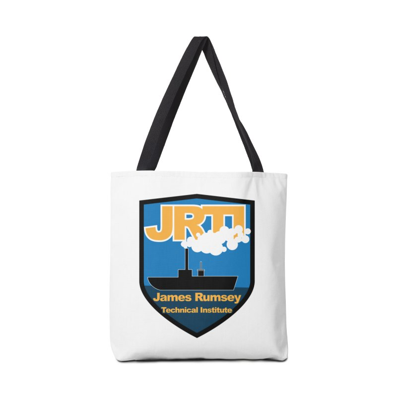 Shield & Boat Accessories Bag by James Rumsey Technical Institute