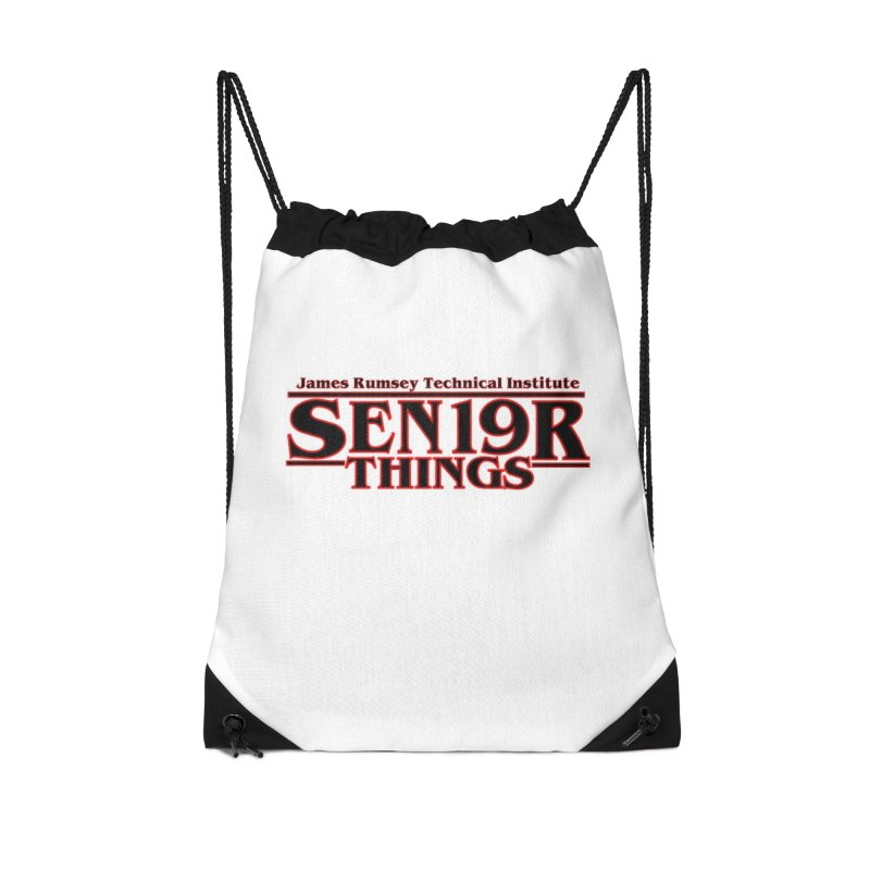 Sen19r Things Accessories Drawstring Bag Bag by James Rumsey Technical Institute