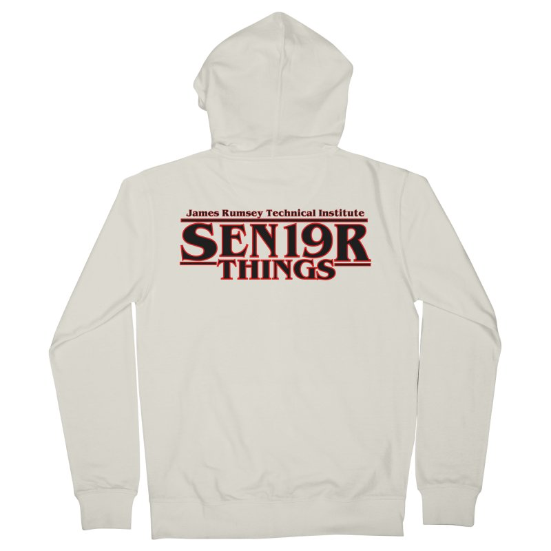 Sen19r Things Men's French Terry Zip-Up Hoody by James Rumsey Technical Institute