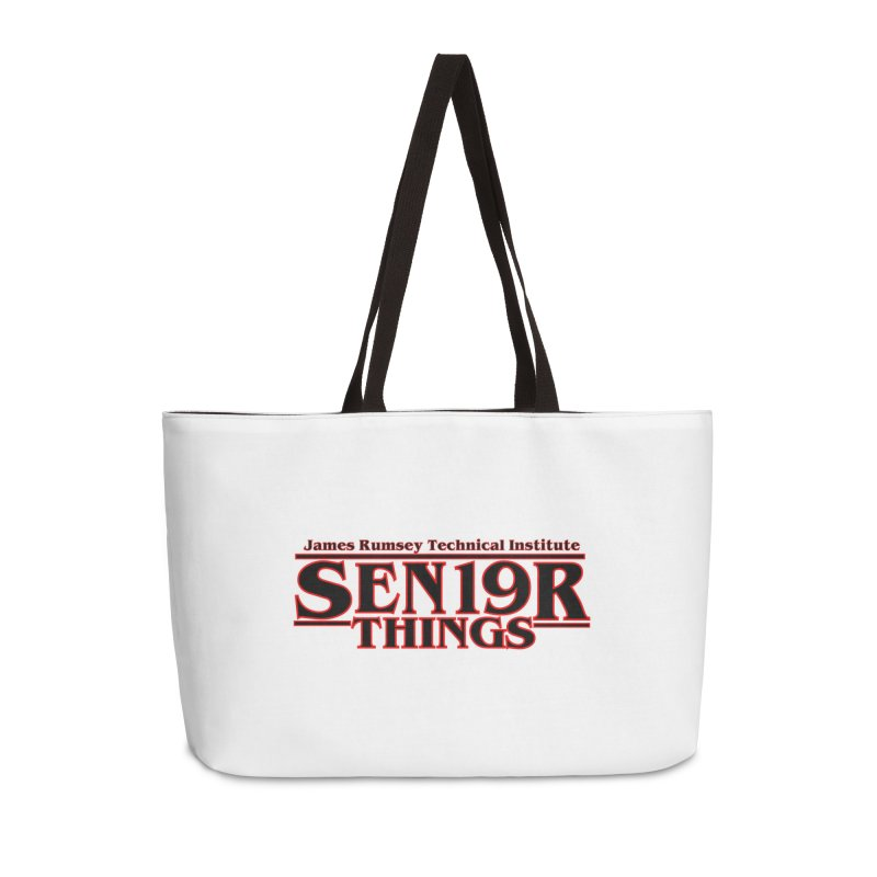 Sen19r Things Accessories Weekender Bag Bag by James Rumsey Technical Institute