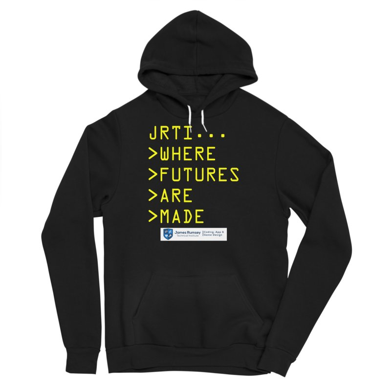 Where Futures Are Made Men's Sponge Fleece Pullover Hoody by James Rumsey Technical Institute