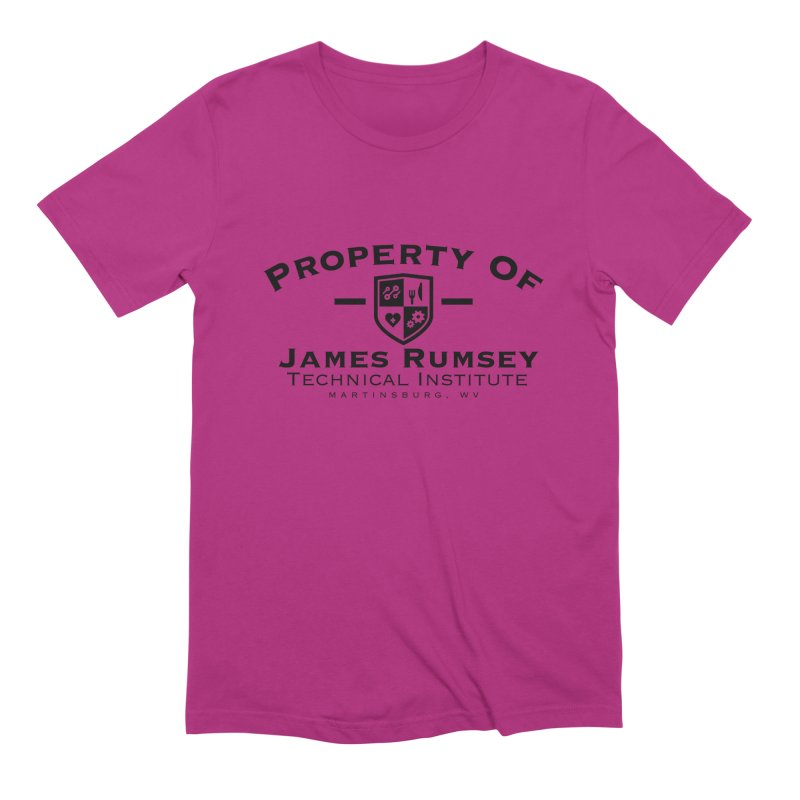 Property of James Rumsey Men's Extra Soft T-Shirt by James Rumsey Technical Institute