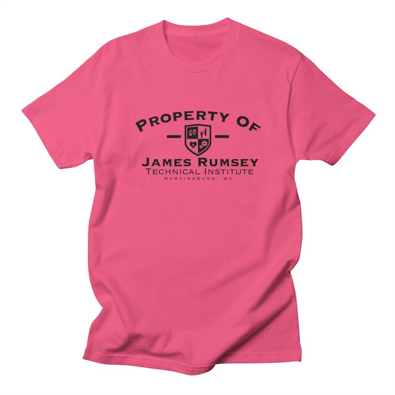Property of James Rumsey Men's Regular T-Shirt by James Rumsey Technical Institute