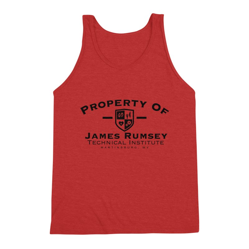 Property of James Rumsey Men's Triblend Tank by James Rumsey Technical Institute