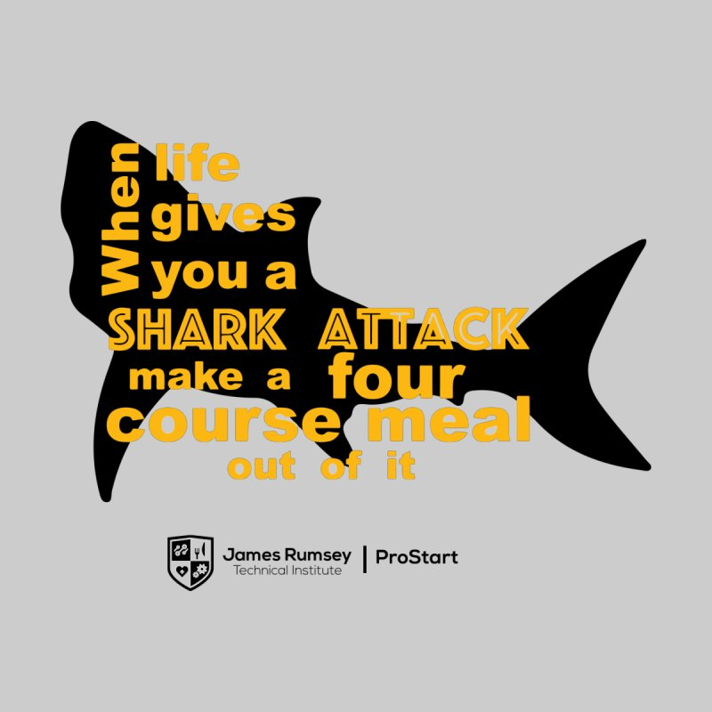 Shark Attack - ProStart Accessories Bag by James Rumsey Technical Institute