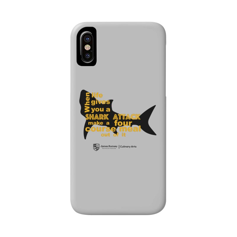 Shark Attack - Culinary Arts Accessories Phone Case by James Rumsey Technical Institute