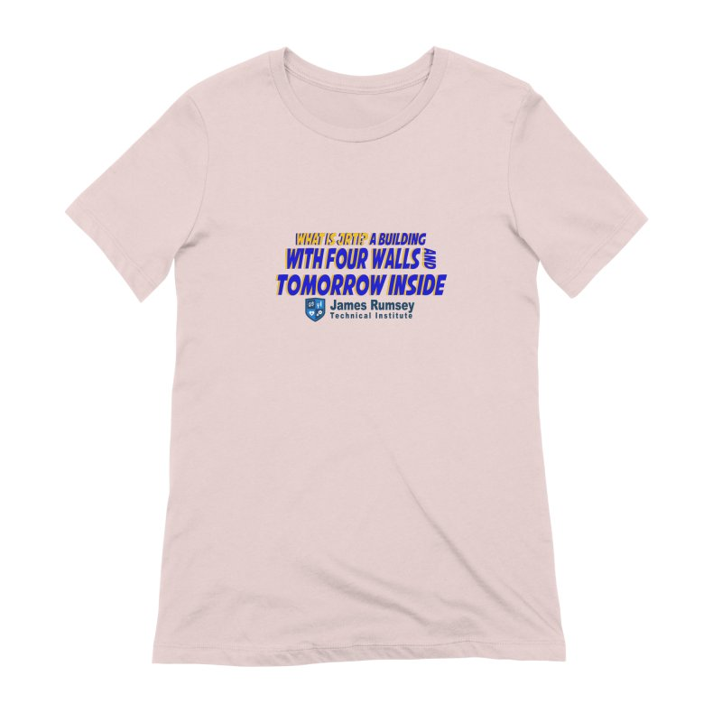 Four Walls And Tomorrow Inside Women's T-Shirt by James Rumsey Technical Institute
