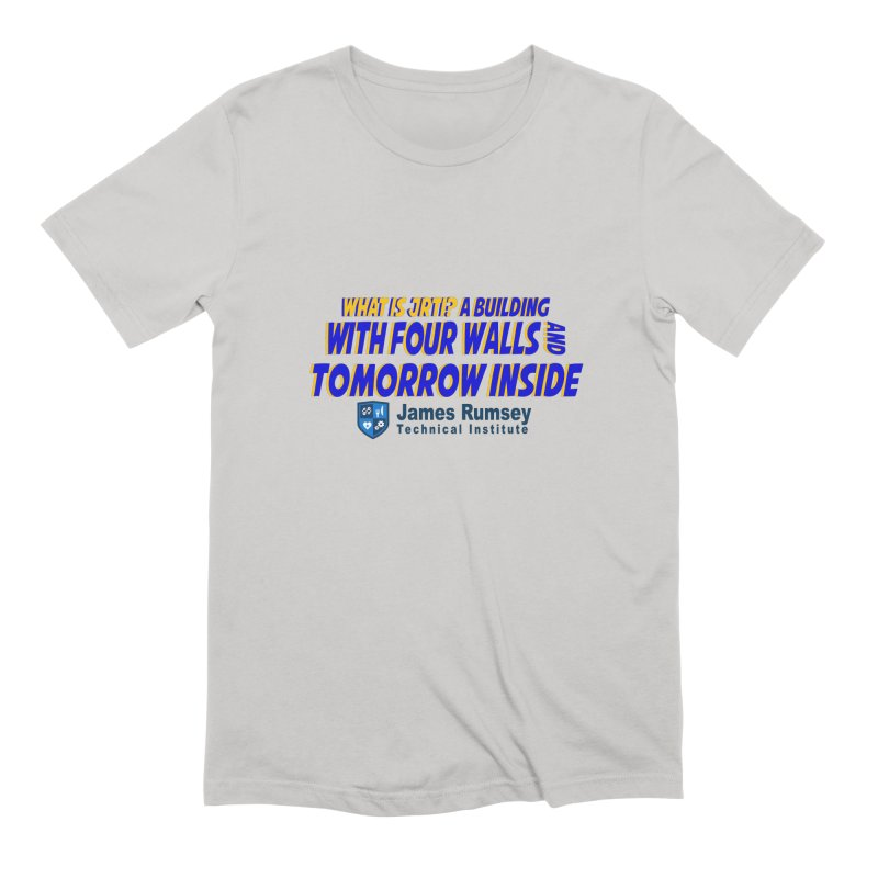Four Walls And Tomorrow Inside Men's Extra Soft T-Shirt by James Rumsey Technical Institute