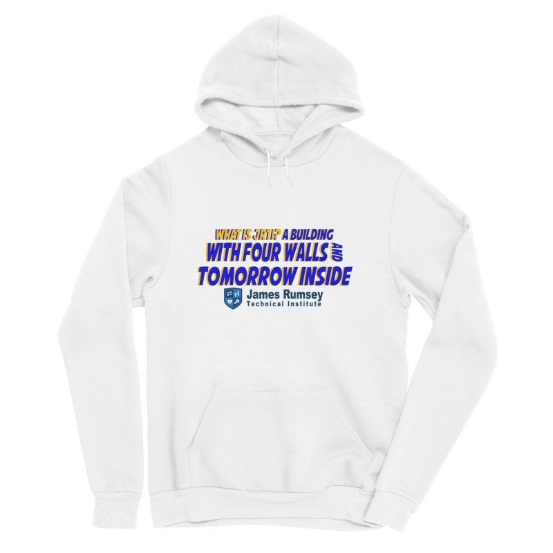 Four Walls And Tomorrow Inside Men's Sponge Fleece Pullover Hoody by James Rumsey Technical Institute