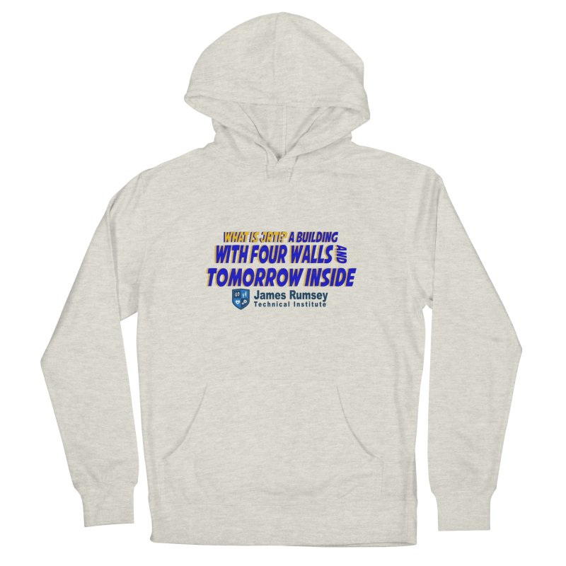 Four Walls And Tomorrow Inside Men's Pullover Hoody by James Rumsey Technical Institute