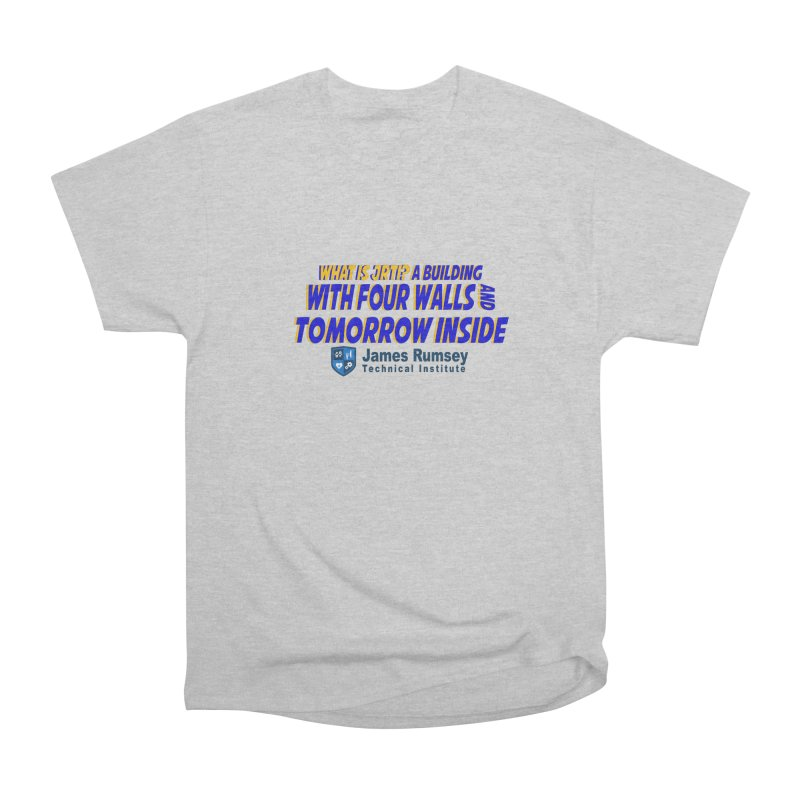 Four Walls And Tomorrow Inside Men's Heavyweight T-Shirt by James Rumsey Technical Institute