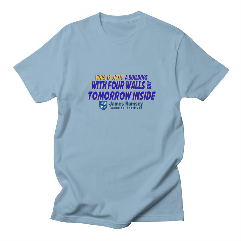 Four Walls And Tomorrow Inside Men's T-Shirt by James Rumsey Technical Institute
