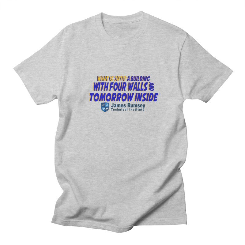 Four Walls And Tomorrow Inside Men's Regular T-Shirt by James Rumsey Technical Institute