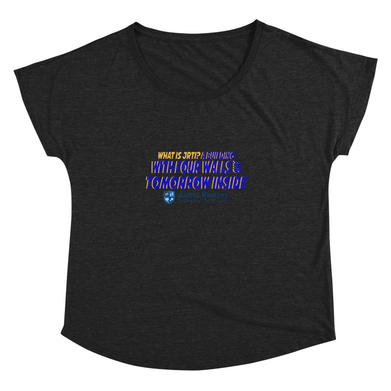 Four Walls And Tomorrow Inside Women's Scoop Neck by James Rumsey Technical Institute