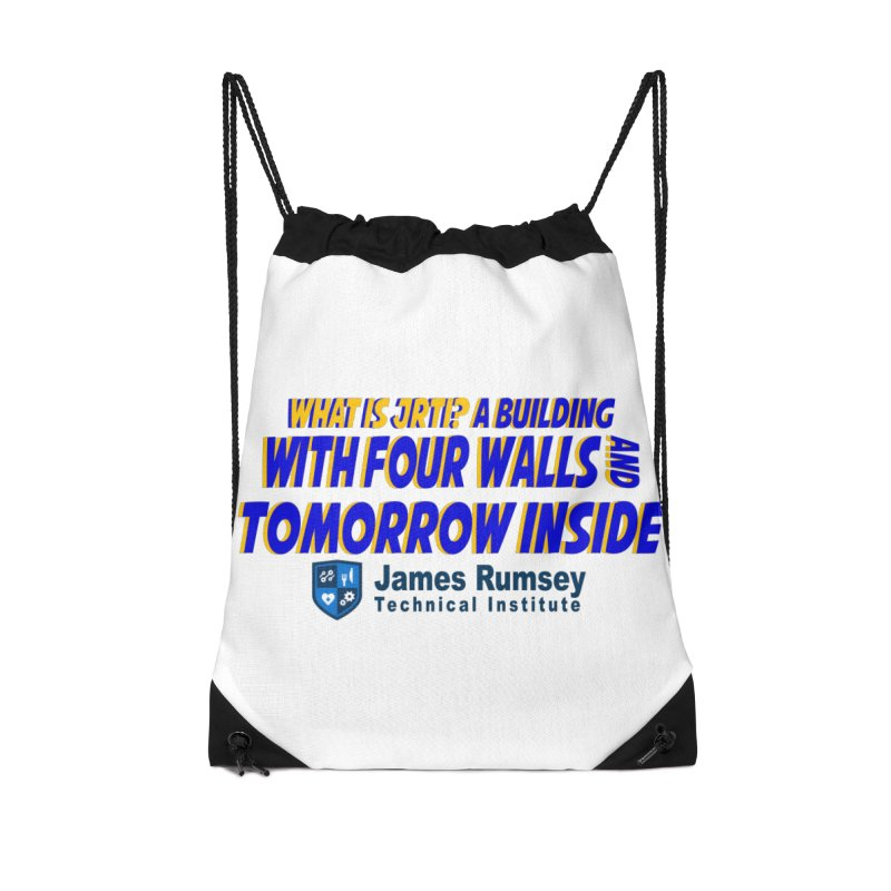 Four Walls And Tomorrow Inside Accessories Bag by James Rumsey Technical Institute