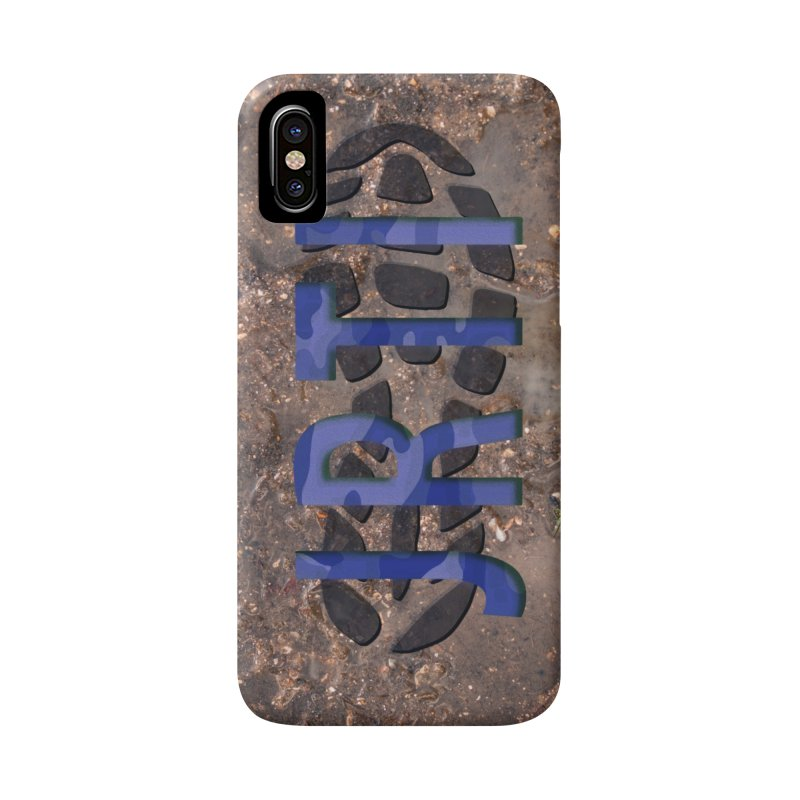 Phone Case Blue Camo Accessories Phone Case by James Rumsey Technical Institute