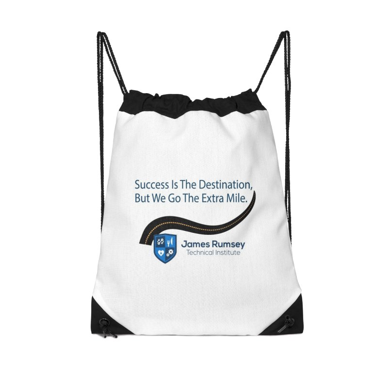 The Extra Mile Accessories Drawstring Bag Bag by James Rumsey Technical Institute