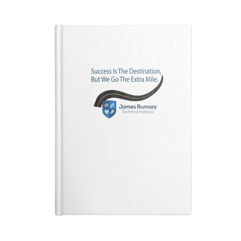 The Extra Mile Accessories Lined Journal Notebook by James Rumsey Technical Institute