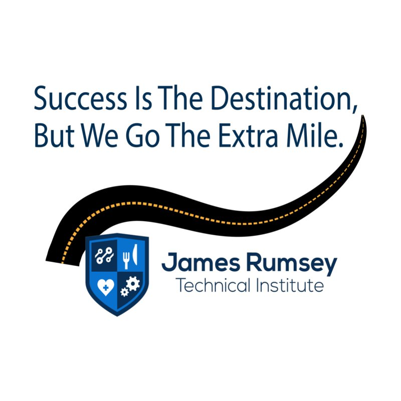 The Extra Mile Accessories Mug by James Rumsey Technical Institute