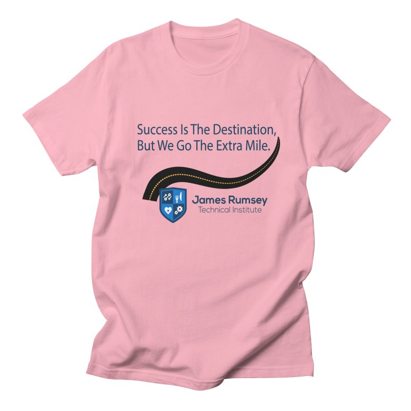 The Extra Mile Men's Regular T-Shirt by James Rumsey Technical Institute