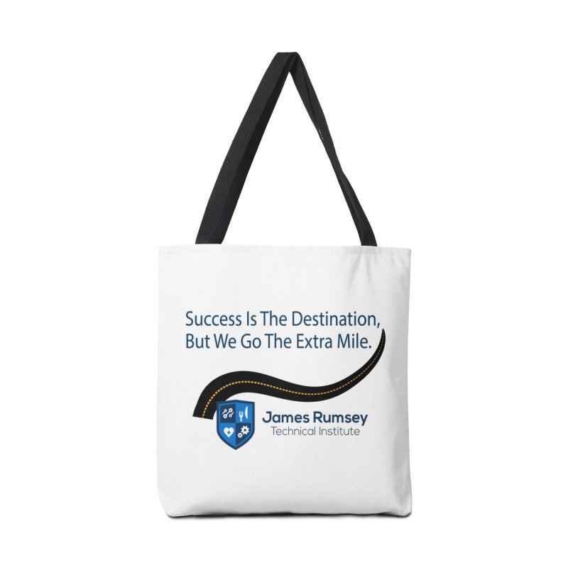 The Extra Mile Accessories Bag by James Rumsey Technical Institute
